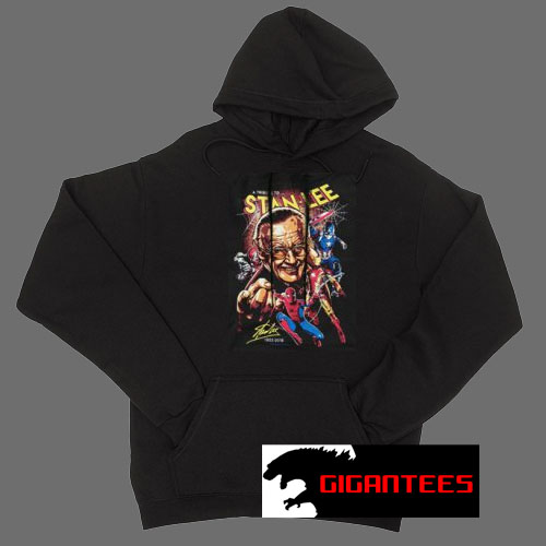 A Tribute to Stan Lee Black color Hoodies