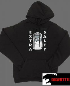 Angry Extra Salty Black color Hoodies