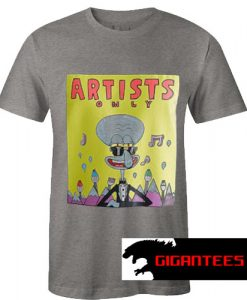 Artists Only Squidward T Shirt
