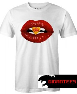 Bear Kiss Red Lips T Shirt