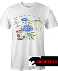 Crazy Plant Lady New T Shirt
