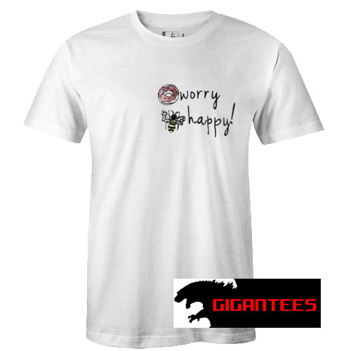 Donut Worry Bee Happy T Shirt