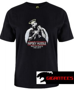 Nipsey Hussle Angel Rest In Peace T Shirt