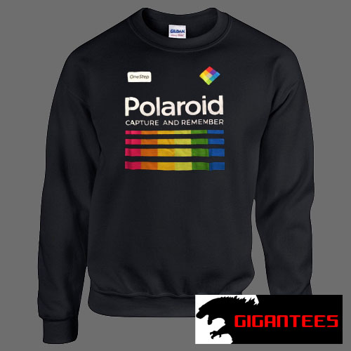Polaroid Capture And Remember Unisex Sweatshirts