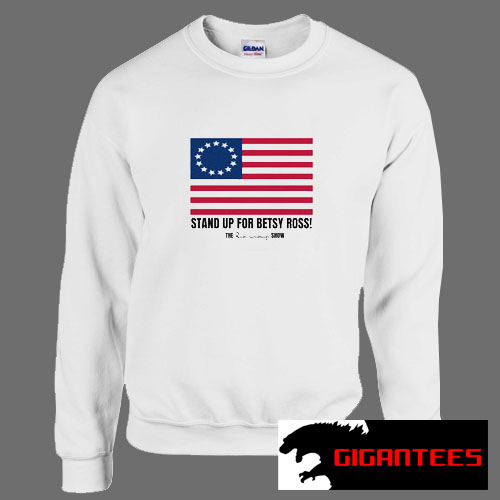 Rush Limbaugh Stand Up for Betsy Ross Flag Unisex Sweatshirts
