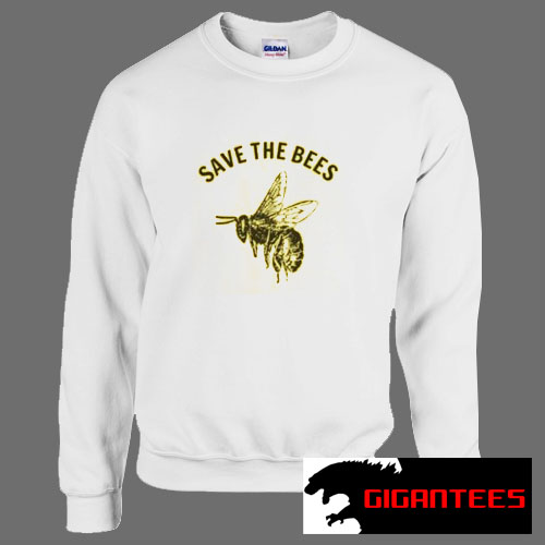 Save The Bees Yellow Unisex Sweatshirts