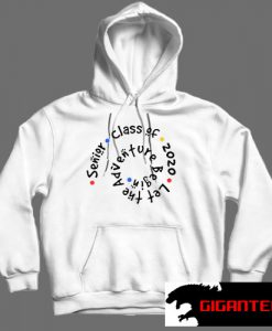 Senior Class Of 2020 Let The Adventure White color Hoodies