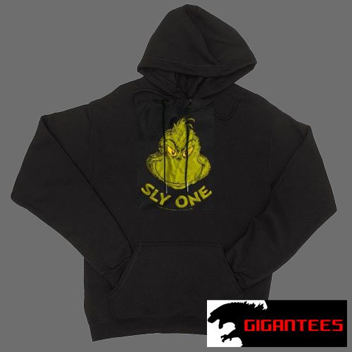 Sly One Grinch Black color Hoodies