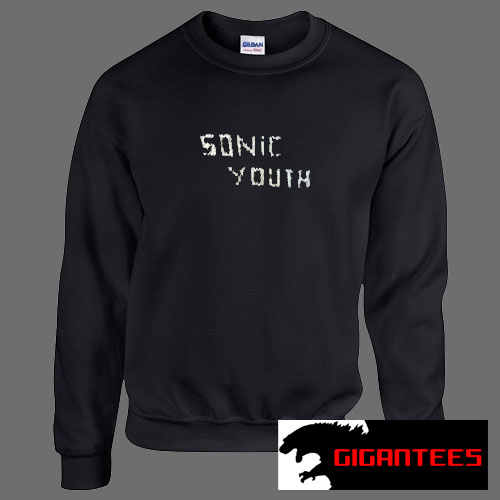 Sonic Youth Letter Unisex Sweatshirts