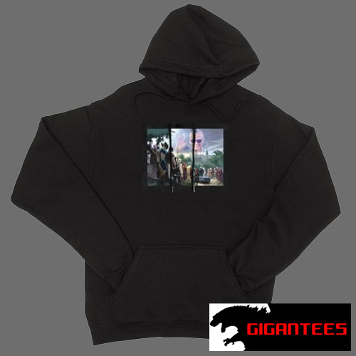 Stan Lee The Last Goodbye Black color Hoodies