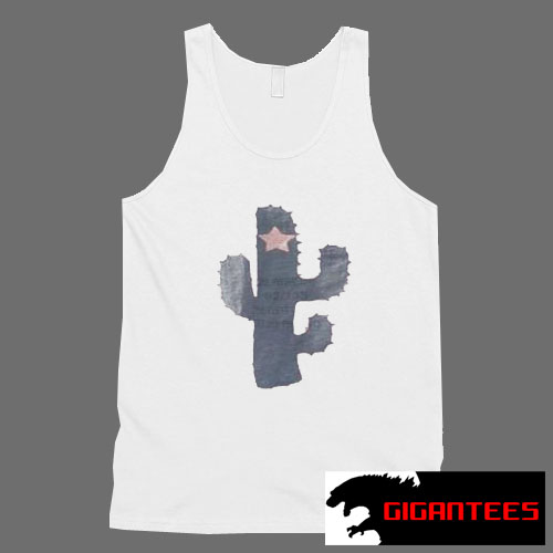 Star Cactus Tank Top Men And Women