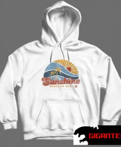 Sunshine State Of Mine White color Hoodies