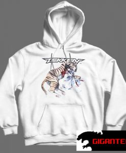 Tekken White color Hoodies