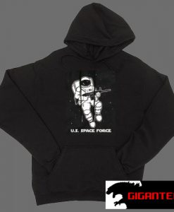 The United States Space Force White color Hoodies
