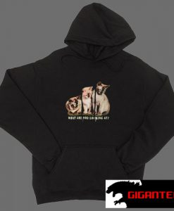 Triple Cat Black color Hoodies