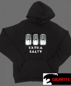 Triple Extra Salty Black color Hoodies
