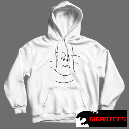 Yours Truly Blue Butterfly White color Hoodies