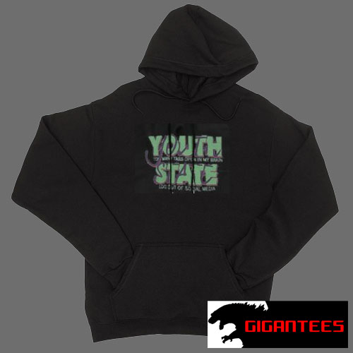 Youth State Black color Hoodies