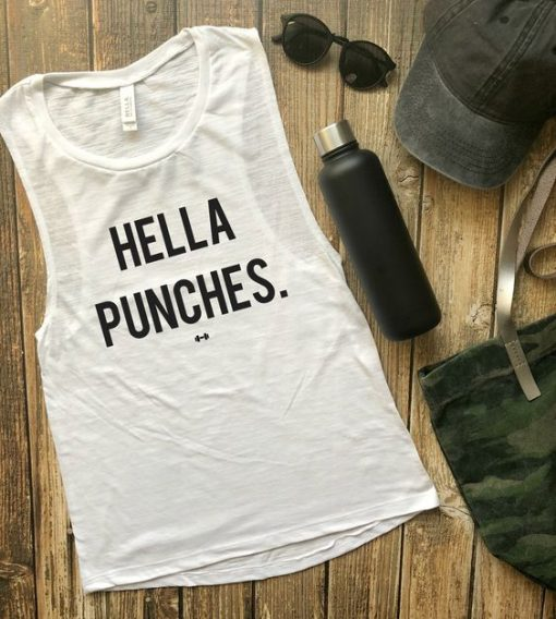 Hella Punches Tank Top