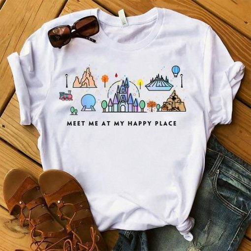 Meet Me At My Happy Place T-Shirt