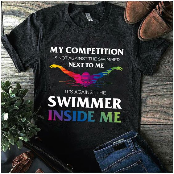 Swimmer Inside Me Sport T-Shirt