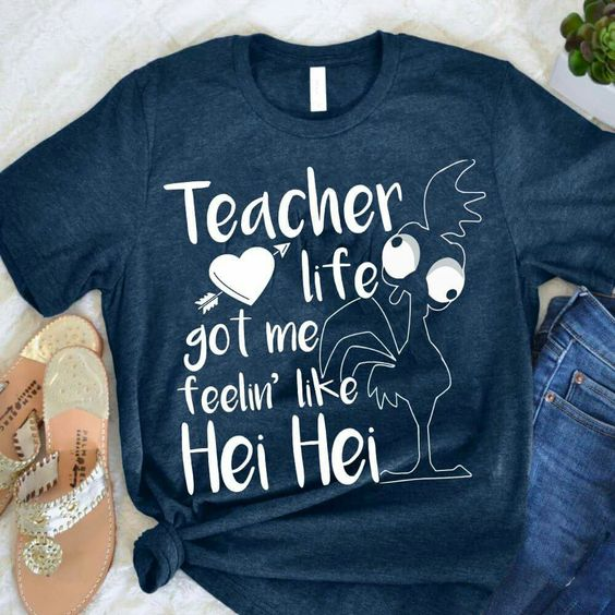 Teacher Life Got Me Tshirt
