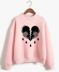 Broken Heart Sweatshirt ZNF08