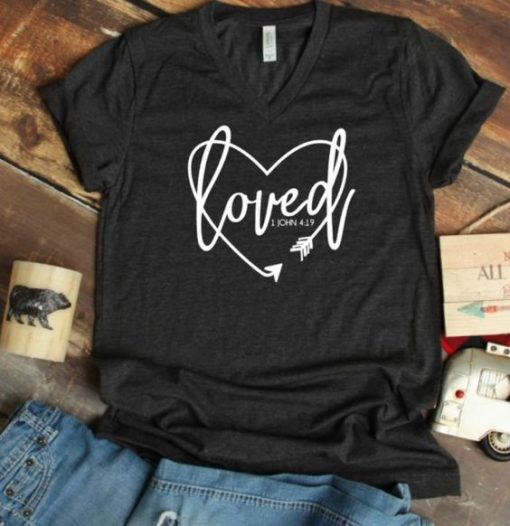 Loved Cute T shirt ZNF08