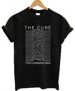 The Cure This Charming Man Joy Division T-shirt ZNF08