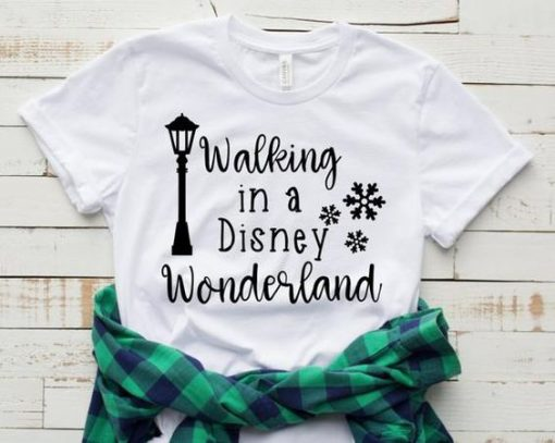 Walking in a Disney T-shirt ZNF08