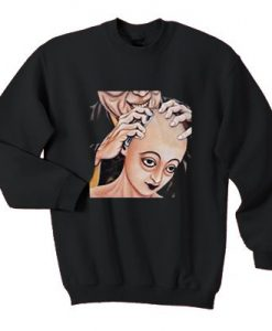 bald head SWEATSHIRT ZNF08