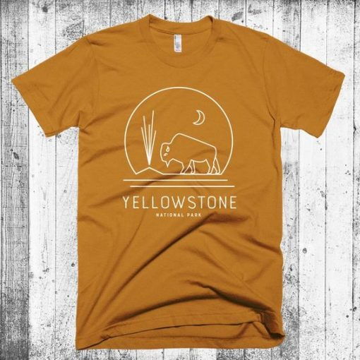 yellowstone national park graphic tee ZNF08
