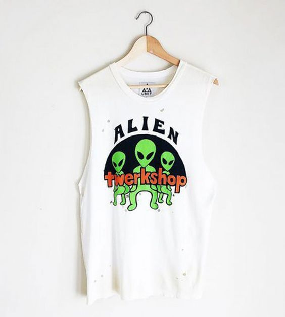 Alien Twerkshop Tanktop ZNF08