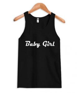 Baby Girl Black Tanktop ZNF08