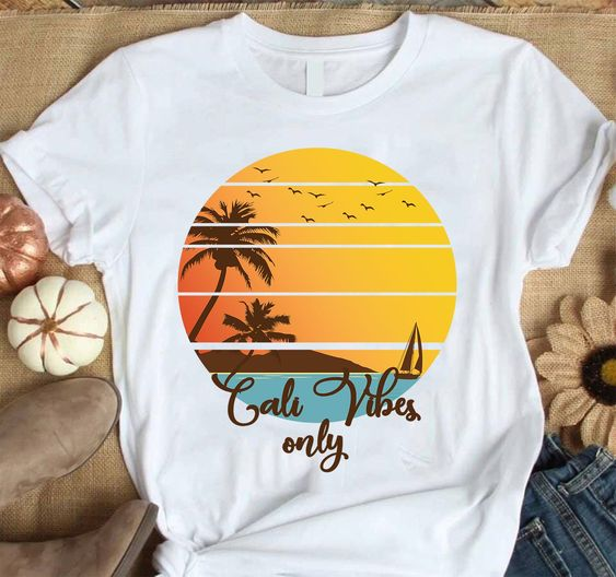 Cali Vibes Only Summer Vacation Short ZNF08