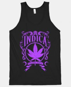 Cannabis Indica Tank Top ZNF08