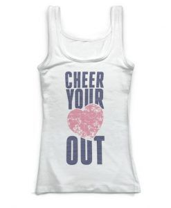 Cheer Your Heart Out Tanktop ZNF08