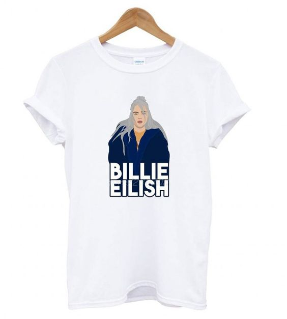 Compre Billie Eilish T shirt ZNF08