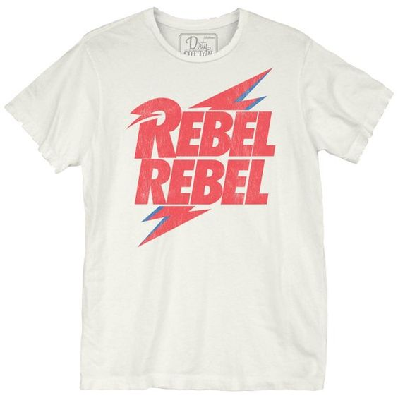 David Bowie Rebel Bolt Unisex Tee ZNF08