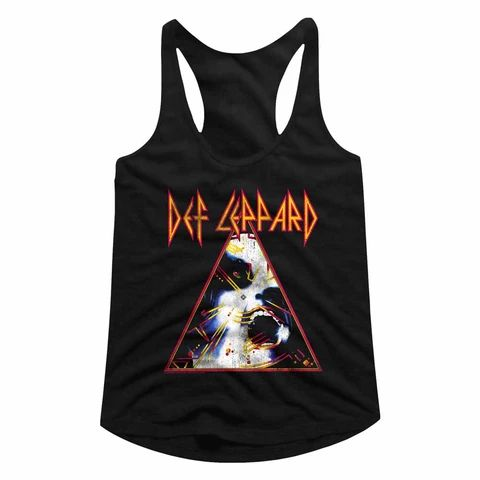 Def Leppard Special Order Nobghyst Ladies Racerback TANK TOP ZNF08