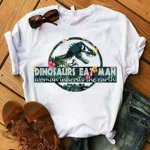 Dinosaurs Eat Man T-shirt ZNF08