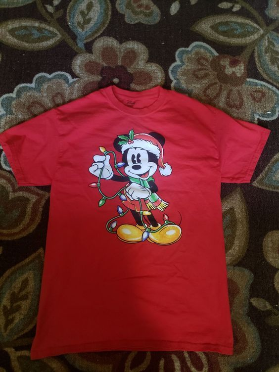 Disney Christmas T-Shirt ZNF08