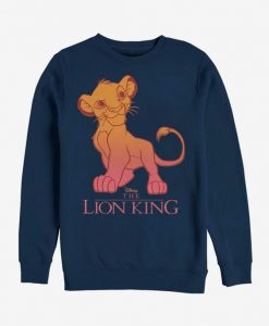 Disney Lion King Simba Sweatshirt ZNF08