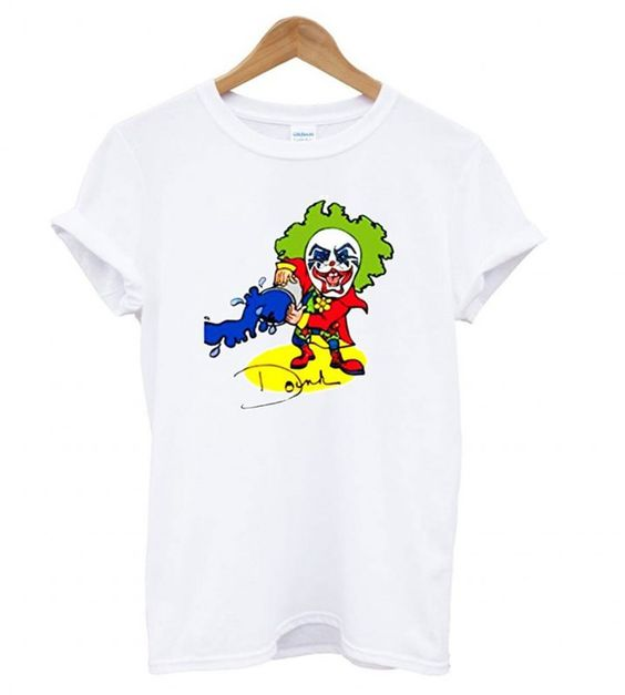 Doink The Clown Retro Wrestling T shirt ZNF08