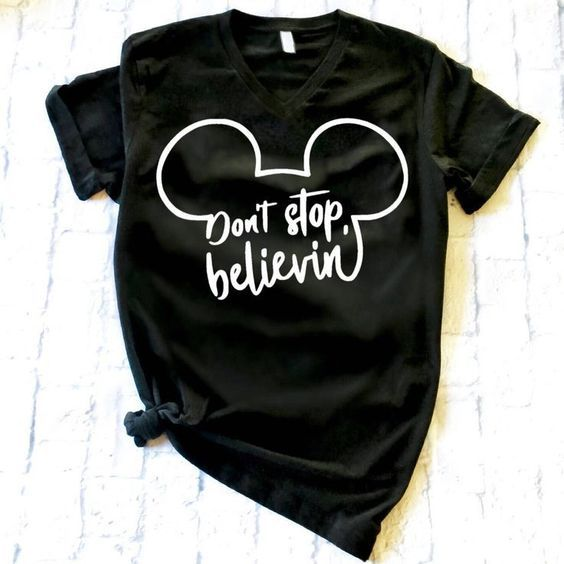 Don't Stop Believin T-Shirt ZNF08