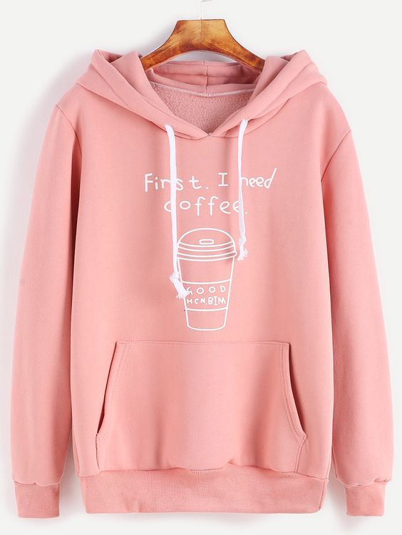 FIRST I NEED COFFE HOODIE ZNF08
