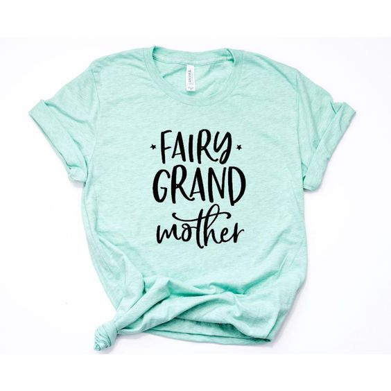 Fairy Grandmother Crew Neck Tee ZNF08