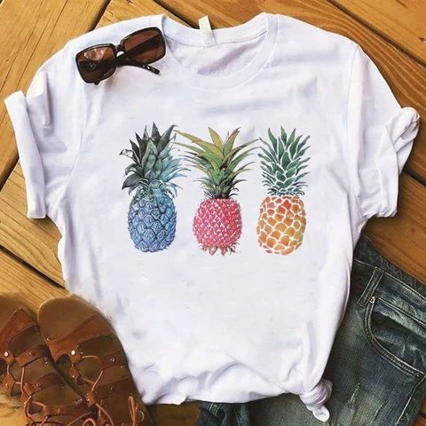 Fashion Pineapple fruits TSHIRT ZNF08