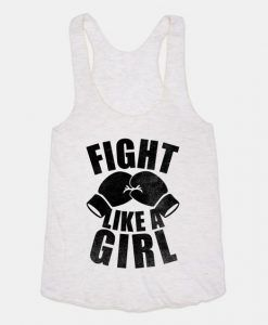Fight Like A Girl Tanktop ZNF08