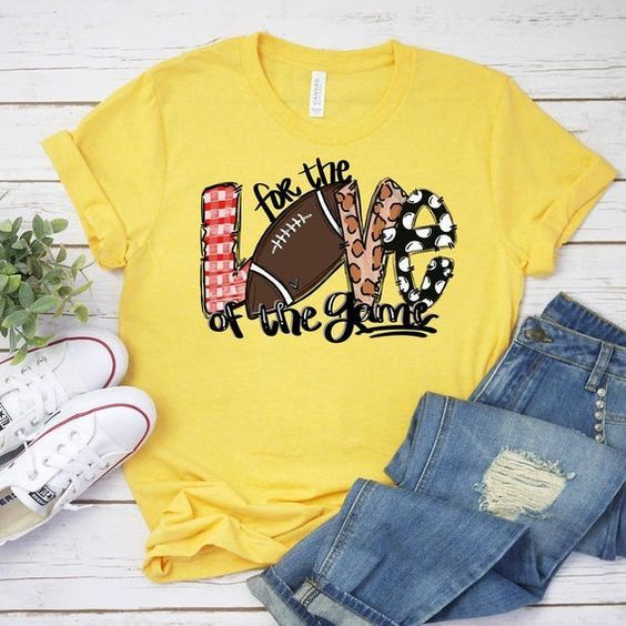 For The Love Of The Game TSHIRT ZNF08